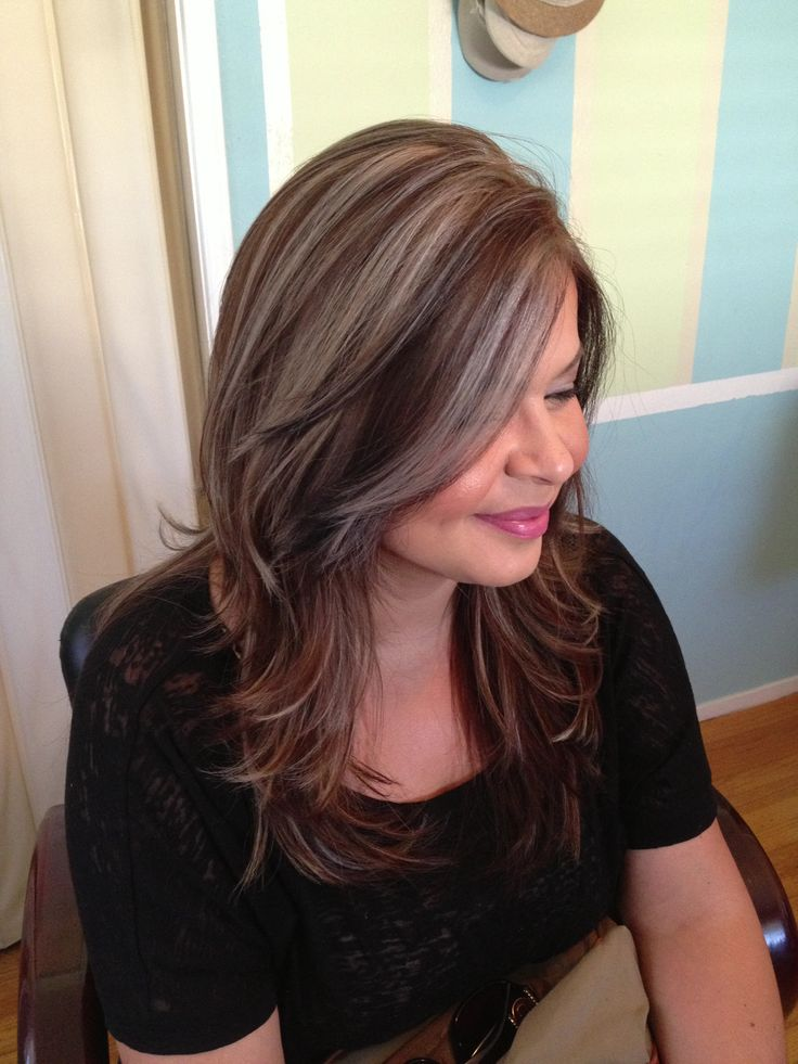 #browncolor #highlights