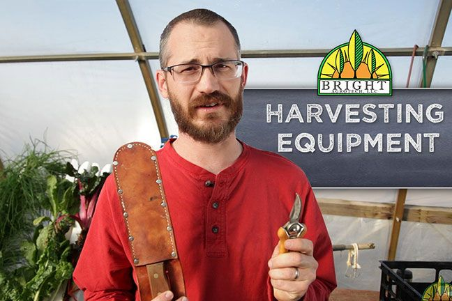 Harvesting Equipment- Bright Agrotech- Different crops require different harvesting tools, and having the right tool will make your job easy and fast. Find out which are best for you here!