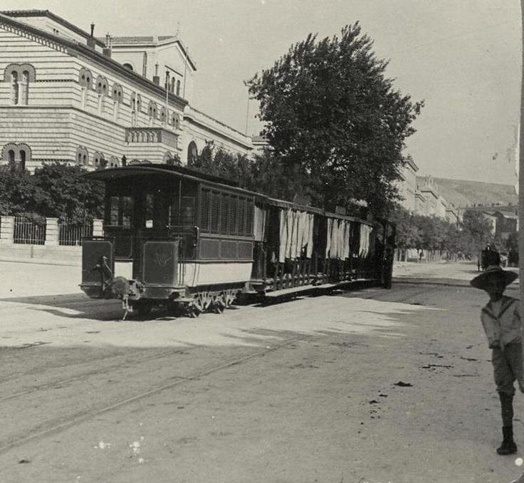 1908 ~ Panepistimiou avenue in Athens