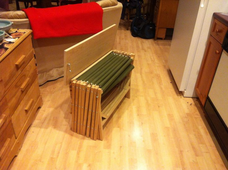 Folding Bed Bench Hidden Cot Bed Bench Folding Beds
