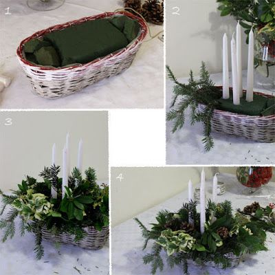 Daisy Garden: White Christmas Together - Decorazioni per la tavola di Natale