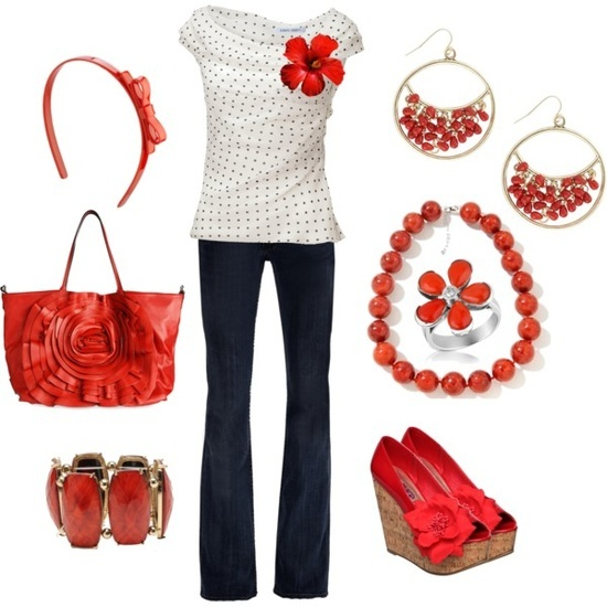 Great outfit for a Canada Day BBQ!