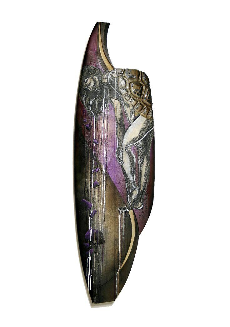 Hibernation (surfboard sculpture)