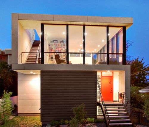 Chic Cheap 15 Low Budget Home Decorating Ideas: Compact Small House Low Budget