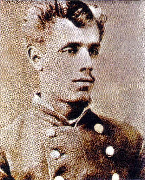 """Subteniente Julio Montt Salamanca de la 5° compañía del Regimiento 6.º de Línea """"Chacabuco"""", luchó y murió en la batalla de La Concepción los días 9 y 10 de Julio de 1882."""