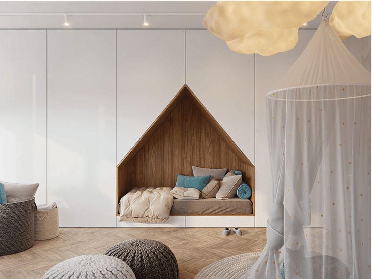 Une chambre d'enfant originale sur www.decocrush.fr   @decocrush #kids #bedroom #decoration #maison #decocrush