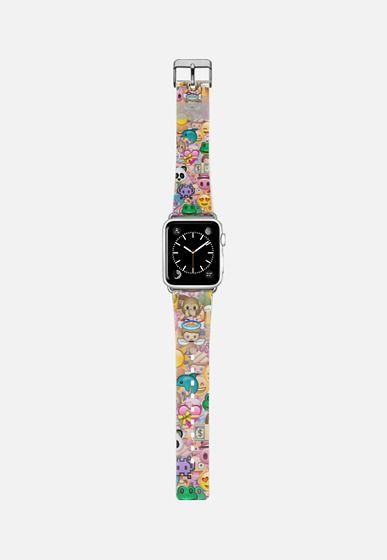 emoji Apple Watch Band (38mm) by Marta Olga Klara   Casetify