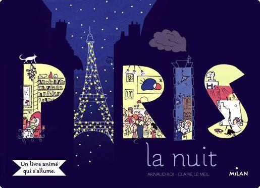 La bibliothèque de Clémentine: Paris la nuit par Arnaud Roi