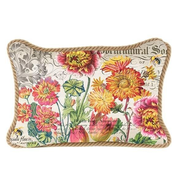 Michel Design Blooms Rectangular Pillow