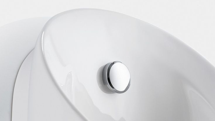 Geberit Preda urinoir met sproeikop