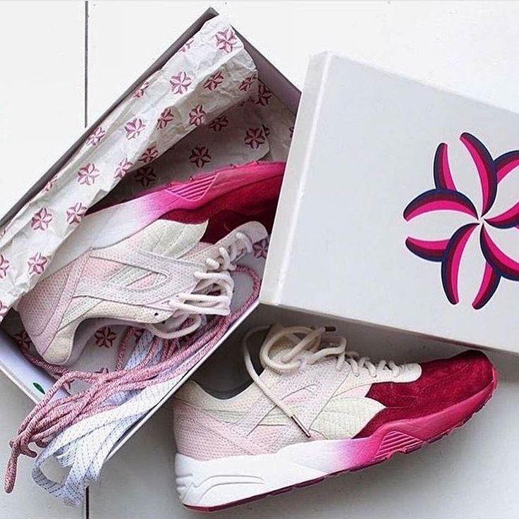 Sneakers femme - Puma Sakura Ronnie Fieg