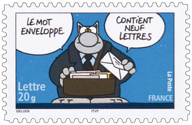 Jolie synecdoque de postiers, Le Chat... / By Geluck.