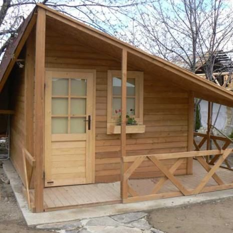 Le graziose casette da giardino in legno | Legnonaturale.COM