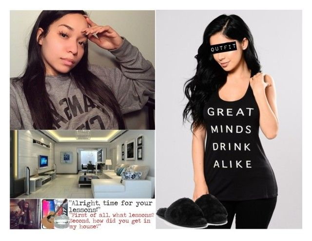 """Lessons"" by digital-minerva ❤ liked on Polyvore featuring Jack Wills, Nasty Gal, living room, bedroom and kitchen"