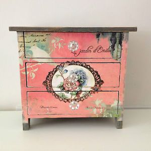 French Vintage Shabby Chic   Shabby-Chic-French-Country-Vintage-Style-Floral-Distressed-Small-Chest ...