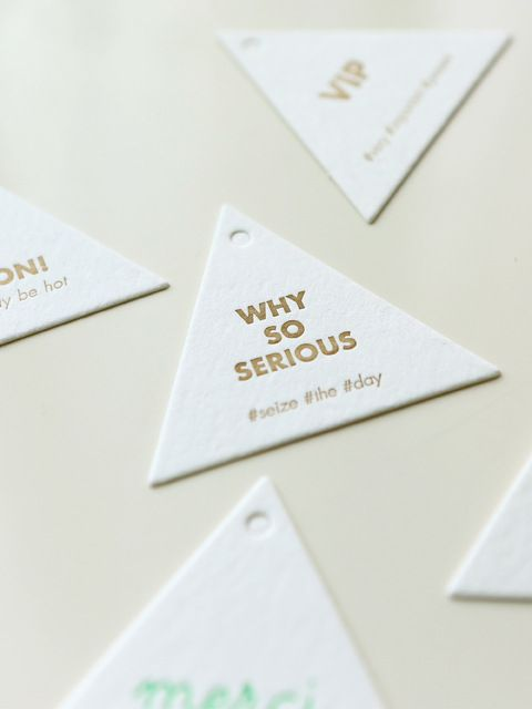 LETTERPRESS MESSAGE TAG studio smalls  at W.Concept korea  #messagetag #gifttag #package #wrapping