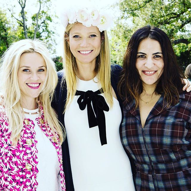 Pin for Later: Gwyneth Paltrow Celebrates Goop With the Help of Reese Witherspoon, Cameron Diaz, and More Celebrity BFFs