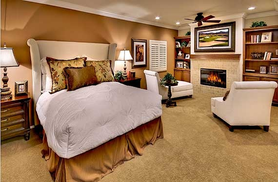 Pardee homes henderson nevada favorite places spaces for Warm neutral paint colors for bedroom