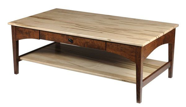 Amish Modern Shaker Coffee Table Amish Furniture Shaker