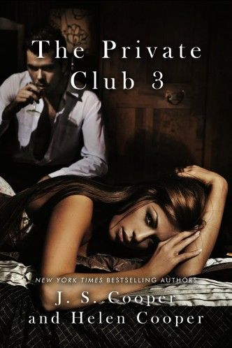 The Private Club Book 3 by J. S. Cooper.  When Meg Riley accepted a job at the Private Club she didn't expect to be thrown into a world of deception and lust. She doesn't know who she can trust, but that doesn't stop her from falling for Greyson Twining.