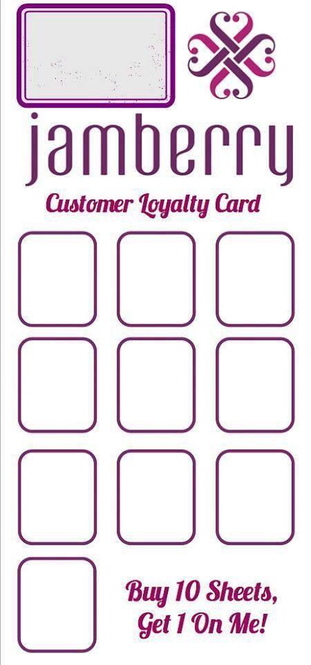 Loyalty card                                                                                                                                                                                 More