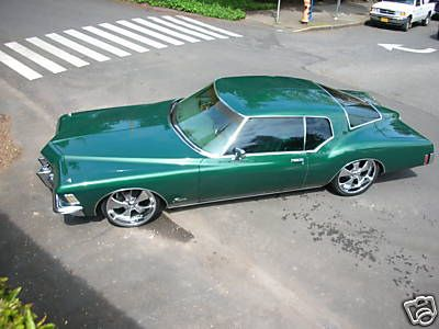 1972 - Buick Riviera Boattail - Green - Hot & Lowered - 12 by donnikowski, via Flickr