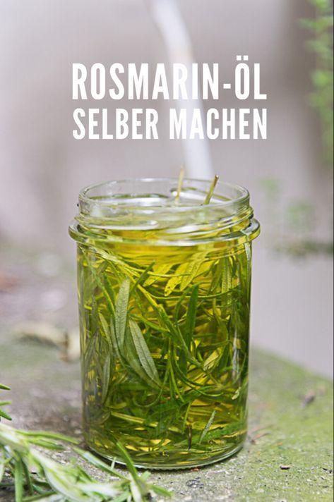 Rosmarin-Öl selber machen. Einfaches Rezept für …