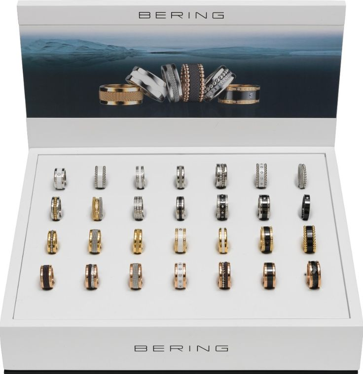Arctic Symphony Collection; BERING rings; Women's rings; Twist & Change System