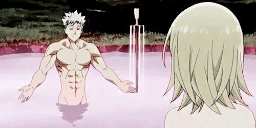 Resultado de imagen de ban y elaine anime