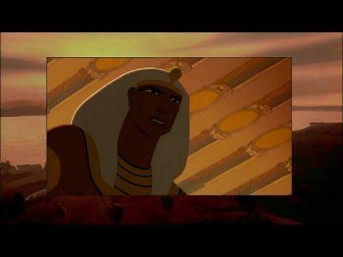 Fragment uit de film Prins van Egypte. Over de 10 plagen van Egypte.