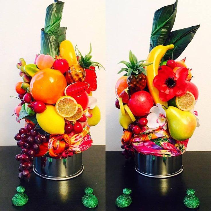 DIY - HOMEMADE - HOW TO : Carmen Miranda Tutti Frutti Hat