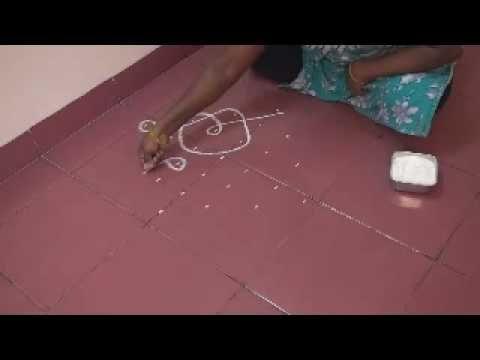Waldorf ~ 5th grade ~ Ancient India ~ Rangoli using dots 7 to 1 ~ Morning Lesson Wake-up Form