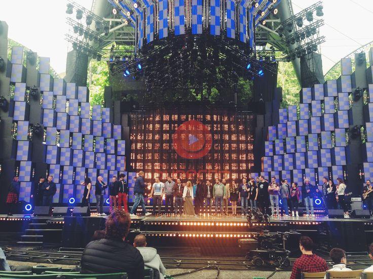 Dzień 3 - Prywatka w Operze Leśnej - próby