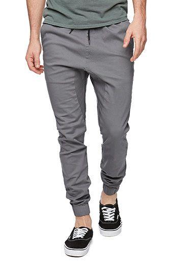 Men's Grey Jogger pant