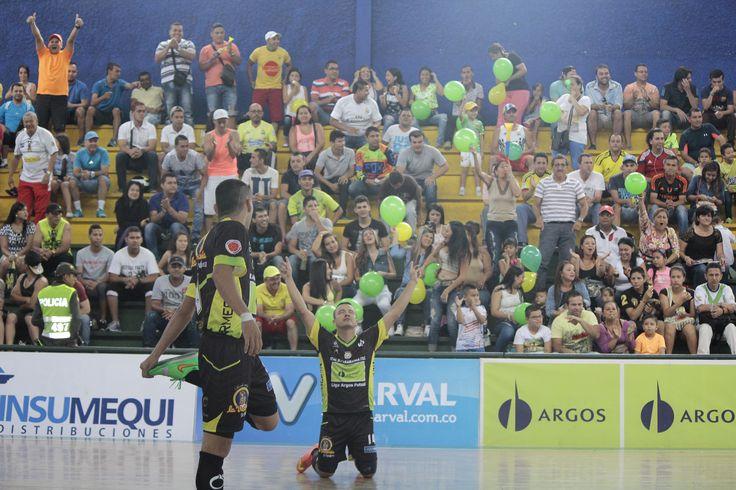 Así es un grito de gol en la Liga Argos Futsal.