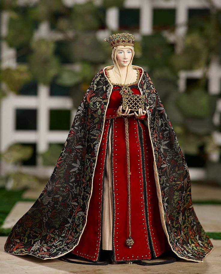 """""""I Only Wanted to Wonder"""" - August 1, 2017: 150 American Portrait Doll of Isabella of Castile by Dorothy Heizer"""