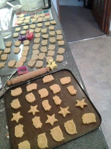 My cheesey minions pre-baking #biscuits #cheese #yummy