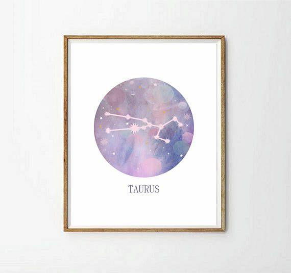 Constelación Tauro decoracion constelaciones laminas