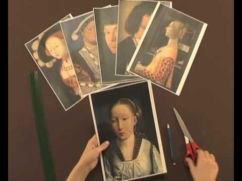 En este video podemos ver cómo utilizando láminas de cuadros del Museo Thyssen…