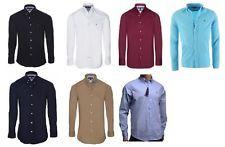 Tommy Hilfiger Hemd weiß schwarz navy hellblau Slim fit Herren Shirt  S - XXL