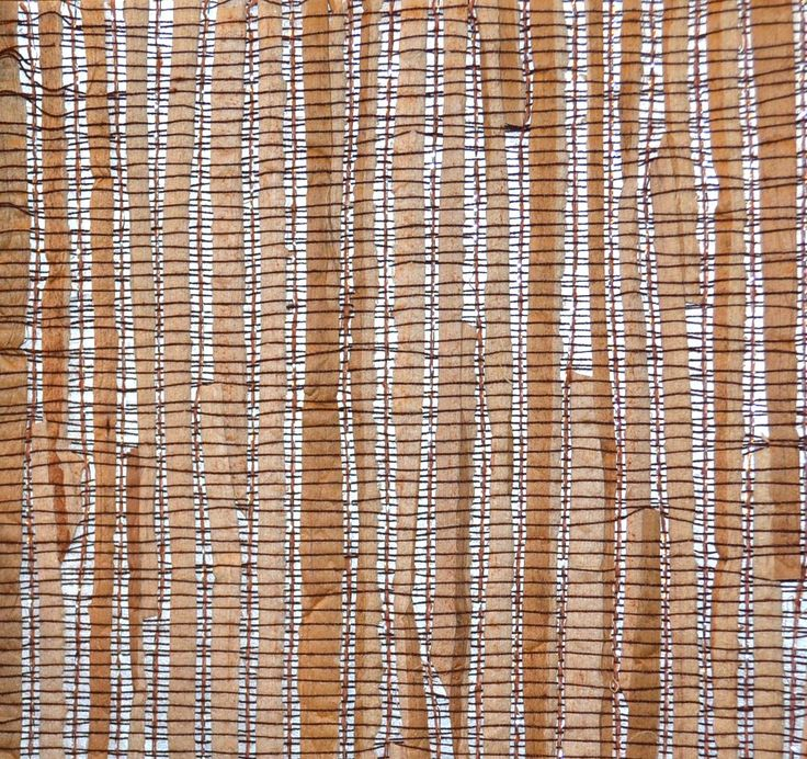 Light Brown Grass Cloth Wall Covering In This Transitional: Gorgeously Textured Grass Cloth Wall Covering In Natural