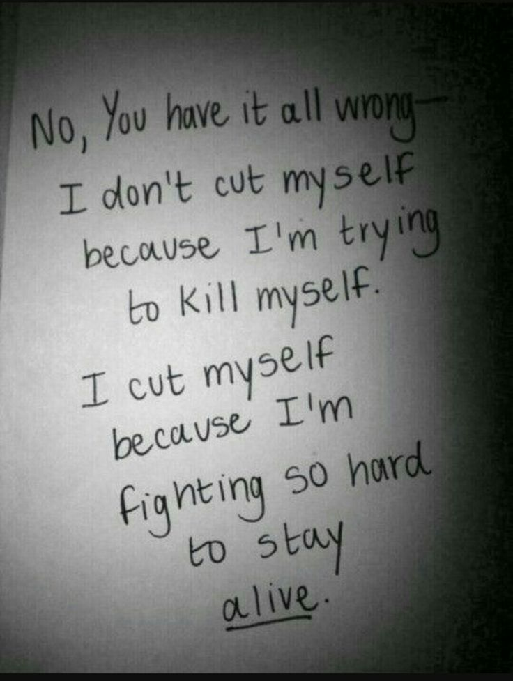 Depressing Quotes About Cutting: Pin By XxJordanxX Morris On Depression And Anxiety Music