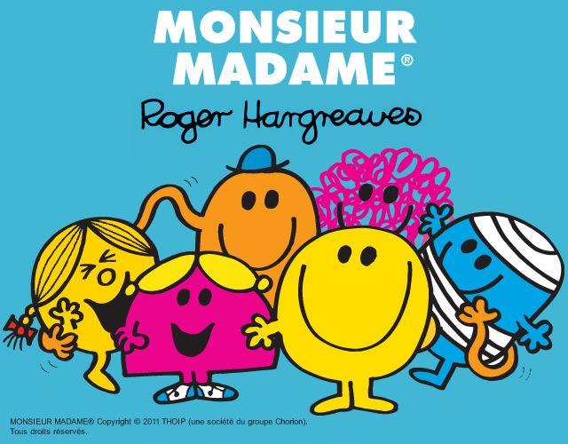 Coloriage de MONSIEUR MADAME : 400 coloriages en ligne gratuit pour les enfants