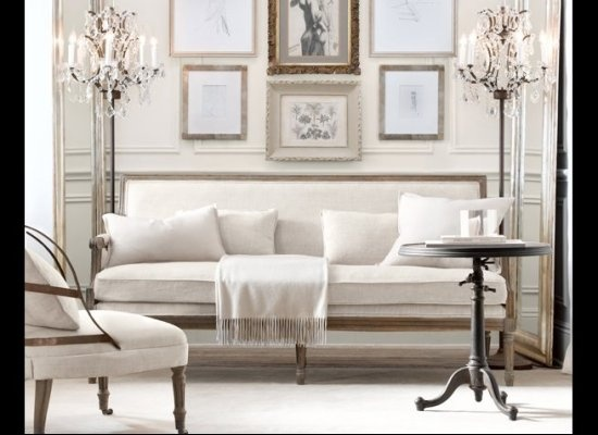 Captivating Restoration Hardware Mirror For Living Room. See More. This Room Feels Cozy  Because Its Small And Luxurious At The Same Time.. Love
