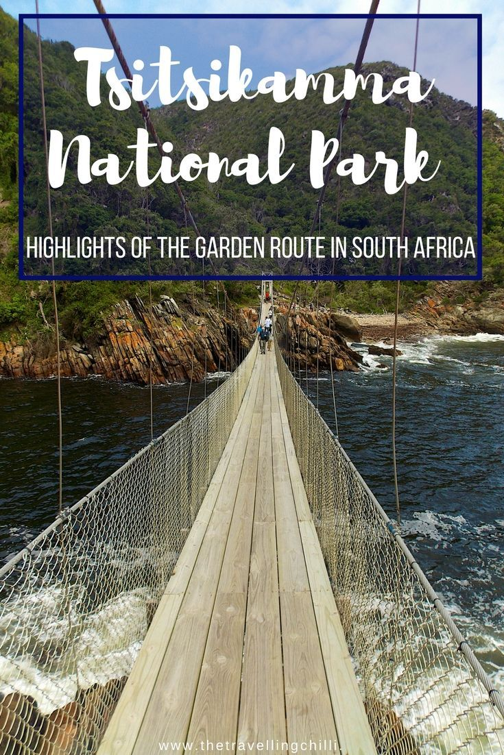 Top 10 Highlights of the Garden Route in South Africa | Suspension bridge Tsitsikamma National Park