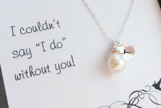 Ideas para regalos y vestidos de damas de honor Image: 0