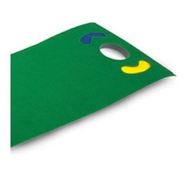 masters Golf Deluxe Putting Mat PE072 There is nothing worse than standing over a little putt worrying about missing. Take a few minutes in the office or at home to practice the stroke and banish those putting demons for good. Putting mat http://www.comparestoreprices.co.uk/golf-equipment/masters-golf-deluxe-putting-mat-pe072.asp