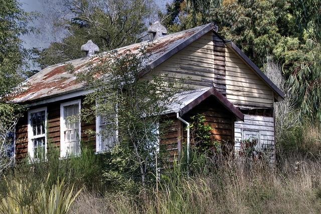Old school house, Glenore, Otago, New Zealand by brian nz, via Flickr