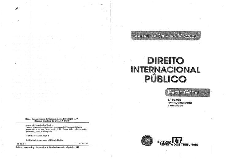 Valerio de Oliveira Mazzuoli - Direito Internacional Público - 2012.pdf - Documents