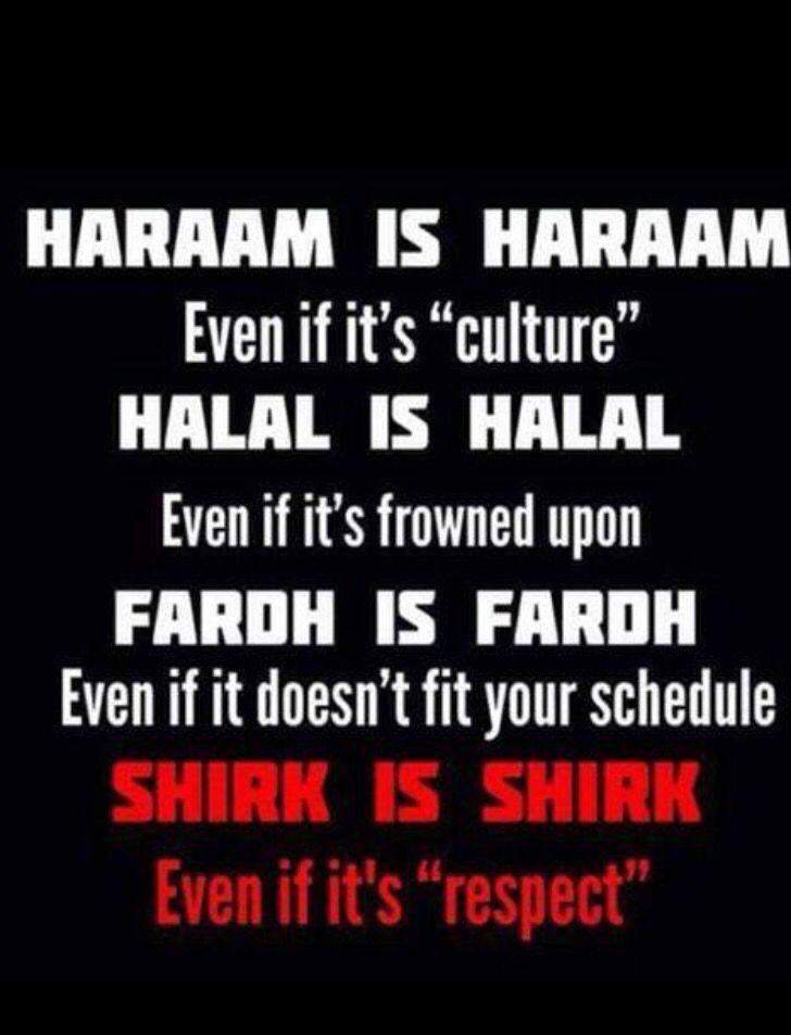 Haram is haram
